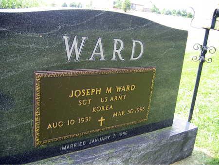 WARD, JOSEPH M. - Buchanan County, Iowa | JOSEPH M. WARD