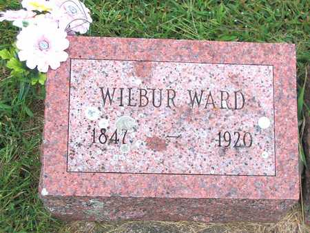WARD, WILBUR F. - Buchanan County, Iowa   WILBUR F. WARD