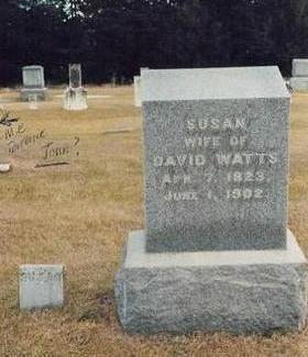 BOWDER WATTS BRIGGS TITTLE, SUSAN - Buchanan County, Iowa | SUSAN BOWDER WATTS BRIGGS TITTLE
