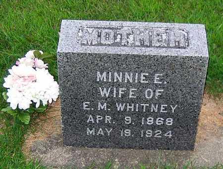 WHITNEY, MINNIE E. - Buchanan County, Iowa | MINNIE E. WHITNEY