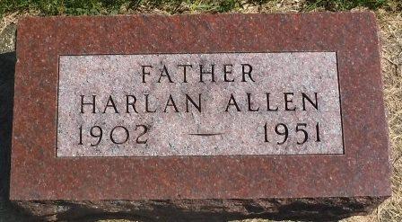 ALLEN, HARLAN - Buena Vista County, Iowa | HARLAN ALLEN