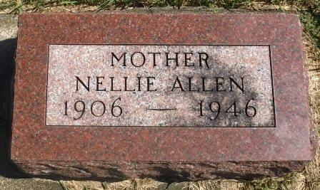 ALLEN, NELLIE - Buena Vista County, Iowa | NELLIE ALLEN
