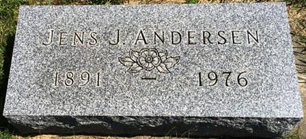 ANDERSEN, JENS J. - Buena Vista County, Iowa | JENS J. ANDERSEN