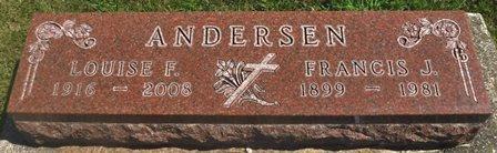 ANDERSEN, LOUISE F. - Buena Vista County, Iowa | LOUISE F. ANDERSEN