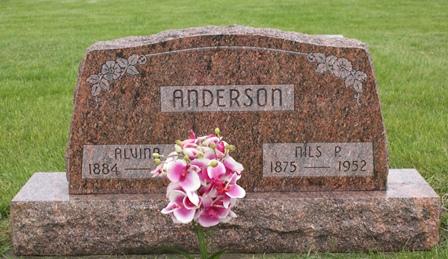 ANDERSON, ALVINA - Buena Vista County, Iowa   ALVINA ANDERSON