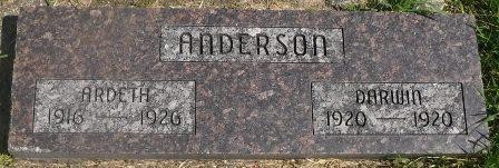 ANDERSON, ARDETH - Buena Vista County, Iowa | ARDETH ANDERSON