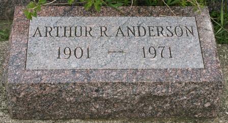 ANDERSON, ARTHUR R. - Buena Vista County, Iowa | ARTHUR R. ANDERSON