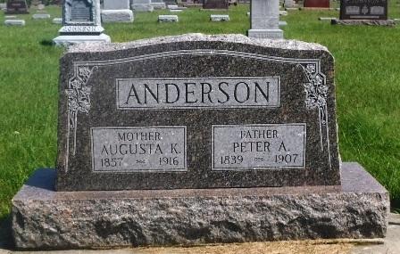 ANDERSON, AUGUSTA K. - Buena Vista County, Iowa | AUGUSTA K. ANDERSON