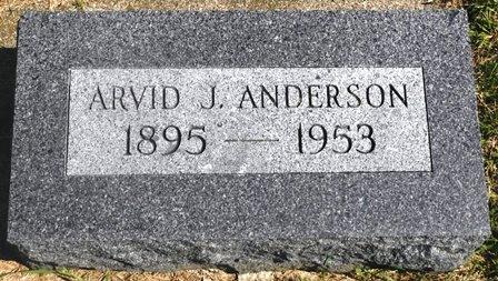 ANDERSON, ARVID J. - Buena Vista County, Iowa   ARVID J. ANDERSON