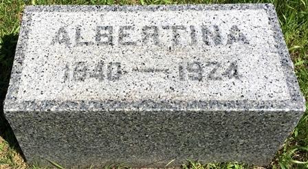 ANDERSON, ALBERTINA - Buena Vista County, Iowa | ALBERTINA ANDERSON