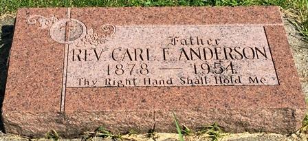 ANDERSON, CARL E. - Buena Vista County, Iowa | CARL E. ANDERSON