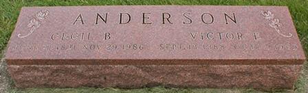 ANDERSON, VICTOR E. - Buena Vista County, Iowa | VICTOR E. ANDERSON