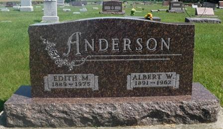 ANDERSON, EDITH M. - Buena Vista County, Iowa | EDITH M. ANDERSON
