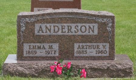 ANDERSON, EMMA M. - Buena Vista County, Iowa | EMMA M. ANDERSON
