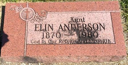 ANDERSON, ELIN - Buena Vista County, Iowa | ELIN ANDERSON