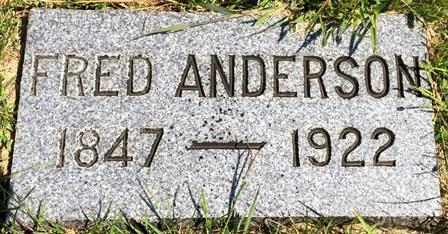 ANDERSON, FRED - Buena Vista County, Iowa | FRED ANDERSON
