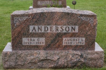 ANDERSON, IDA C. - Buena Vista County, Iowa | IDA C. ANDERSON