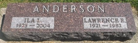 ANDERSON, LAWRENCE E. - Buena Vista County, Iowa | LAWRENCE E. ANDERSON