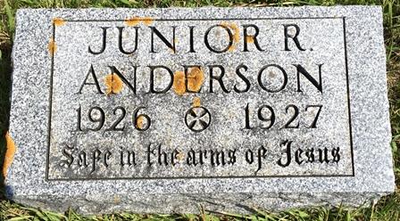 ANDERSON, JUNIOR R. - Buena Vista County, Iowa   JUNIOR R. ANDERSON