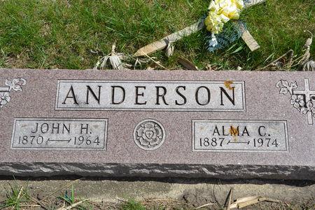 ANDERSON, JOHN  H. - Buena Vista County, Iowa | JOHN  H. ANDERSON