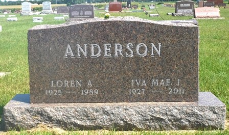 ANDERSON, IVA MAE J. - Buena Vista County, Iowa | IVA MAE J. ANDERSON