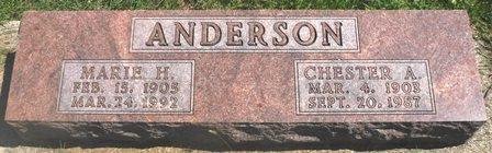 ANDERSON, CHESTER A. - Buena Vista County, Iowa | CHESTER A. ANDERSON