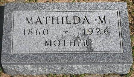 ANDERSON, MATHILDA M. - Buena Vista County, Iowa | MATHILDA M. ANDERSON