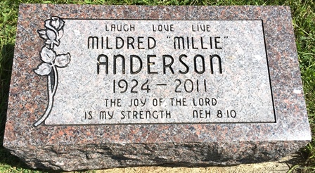 ANDERSON, MILDRED