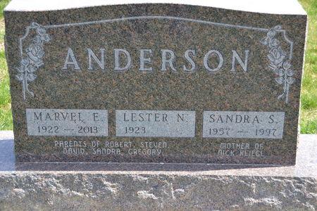 ANDERSON, MARVEL ESTHER - Buena Vista County, Iowa   MARVEL ESTHER ANDERSON