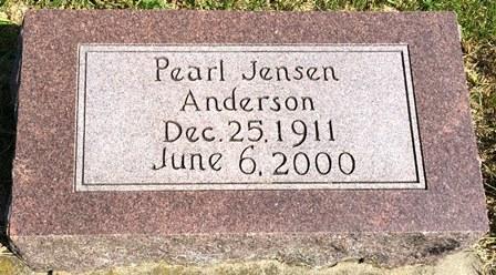 JENSEN ANDERSON, PEARL - Buena Vista County, Iowa | PEARL JENSEN ANDERSON