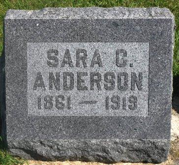 ANDERSON, SARA C. - Buena Vista County, Iowa | SARA C. ANDERSON