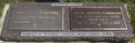 ANDERSON, VIRGIL WINTEN - Buena Vista County, Iowa | VIRGIL WINTEN ANDERSON