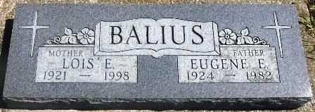 BALIUS, EUGENE E. - Buena Vista County, Iowa | EUGENE E. BALIUS
