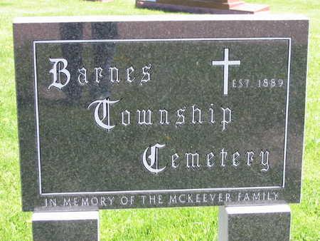 BARNES TOWNSHIP, CEMETERY - Buena Vista County, Iowa | CEMETERY BARNES TOWNSHIP