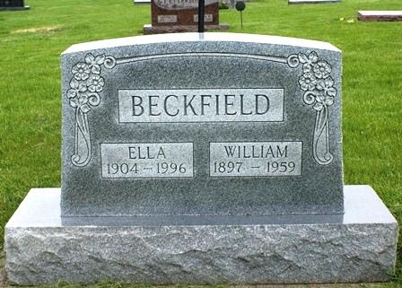 BECKFIELD, WILLIAM - Buena Vista County, Iowa | WILLIAM BECKFIELD