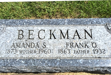ANDERSON BECKMAN, AMANDA S. - Buena Vista County, Iowa | AMANDA S. ANDERSON BECKMAN