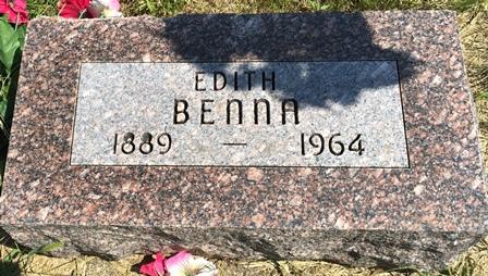 SPAR BENNA, EDITH - Buena Vista County, Iowa | EDITH SPAR BENNA