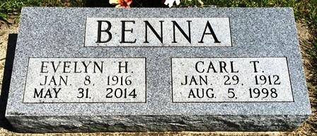 BENNA, EVELYN H. - Buena Vista County, Iowa | EVELYN H. BENNA