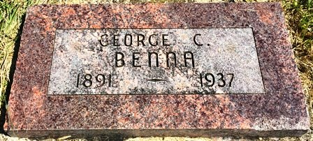 BENNA, GEORGE C. - Buena Vista County, Iowa | GEORGE C. BENNA