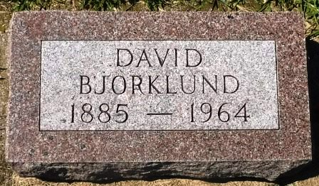 BJORKLUND, DAVID - Buena Vista County, Iowa | DAVID BJORKLUND
