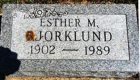 BJORKLUND, ESTHER M. - Buena Vista County, Iowa | ESTHER M. BJORKLUND
