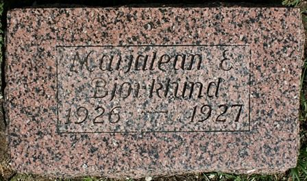 BJORKLUND, MAIJALEAN E. - Buena Vista County, Iowa   MAIJALEAN E. BJORKLUND