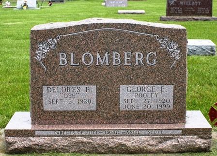 BLOMBERG, GEORGE E. - Buena Vista County, Iowa | GEORGE E. BLOMBERG