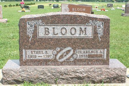 BLOOM, ETHEL E. - Buena Vista County, Iowa   ETHEL E. BLOOM