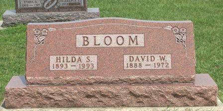 BLOOM, HILDA S. - Buena Vista County, Iowa | HILDA S. BLOOM