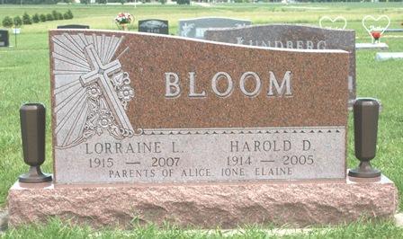 BLOOM, HAROLD D. - Buena Vista County, Iowa | HAROLD D. BLOOM