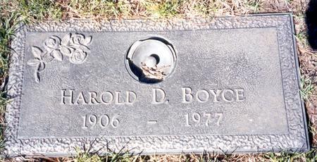 BOYCE, HAROLD D - Buena Vista County, Iowa | HAROLD D BOYCE
