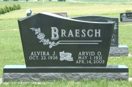 BRAESCH, ARVID O. - Buena Vista County, Iowa   ARVID O. BRAESCH