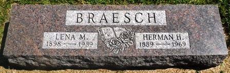 BRAESCH, HERMAN H. - Buena Vista County, Iowa | HERMAN H. BRAESCH