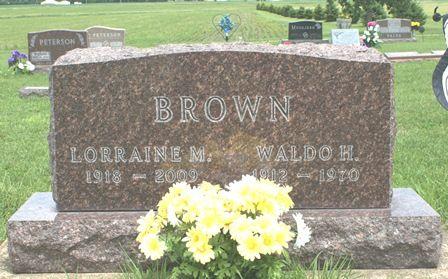 THIEMAN BROWN, LORRAINE M. - Buena Vista County, Iowa | LORRAINE M. THIEMAN BROWN